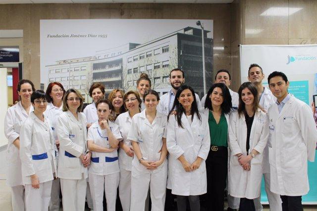 Equipo de la Unidad de Reproducción Asistada de la Jiménez Díaz
