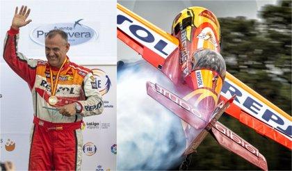 Cástor Fantoba, campeón de España absoluto de vuelo acrobático en Clásico y Freestyle