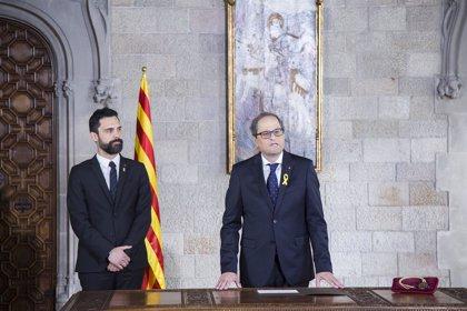 Torra ofrece acoger a los refugiados del 'Aquarius' en Catalunya