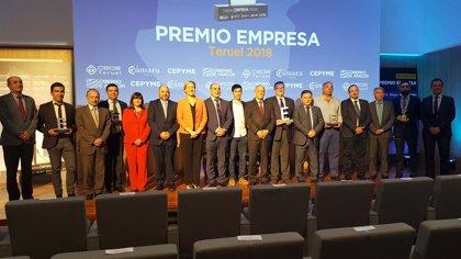 El Hotel Balneario de Ariño se alza con el Premio Empresa Teruel 2018