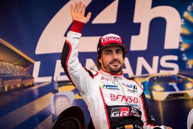 Fernando Alonso 24 Horas Le Mans