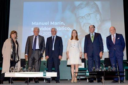 Galán anuncia la Cátedra Iberdrola Manuel Marín de política energética europea en el Colegio de Europa