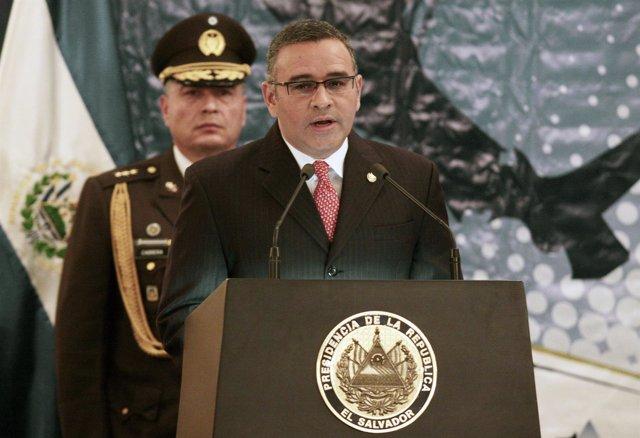 El Presidente De El Salvador, Mauricio Funes