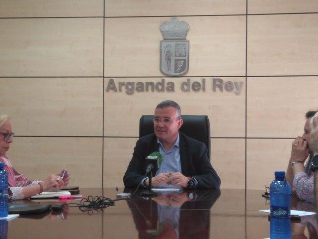 Alcalde de Arganda, Guillermo Hita