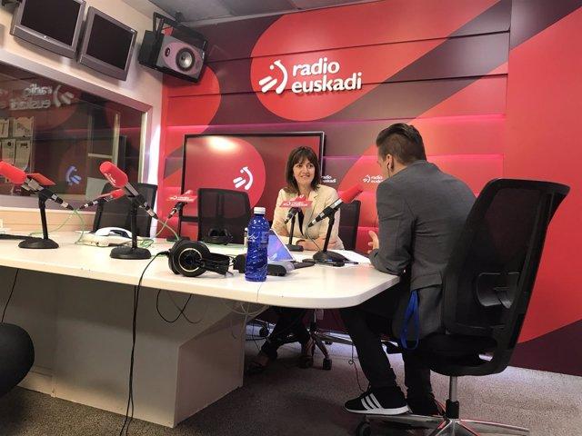 Entrevista de Idoia Mendia en Radio Euskadi