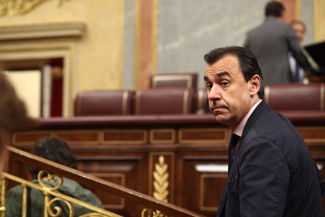 Fernando Martínez Maillo en la sesión de control al Gobierno en el Congreso