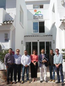 Visita de gestores de residuos de méxico a mancomunidad occidental