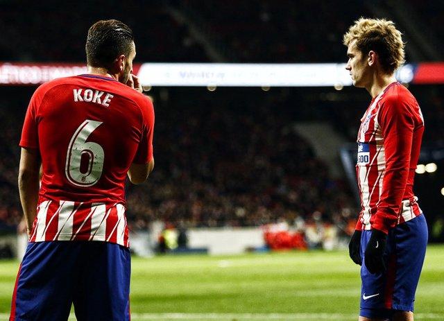 Koke y Griezmann (Atlético de Madrid)