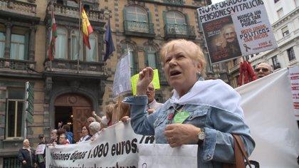 """Unidos Podemos dice que ligar ya pensiones al IPC sería """"un buen gesto"""" y el PSOE se remite al diálogo social"""