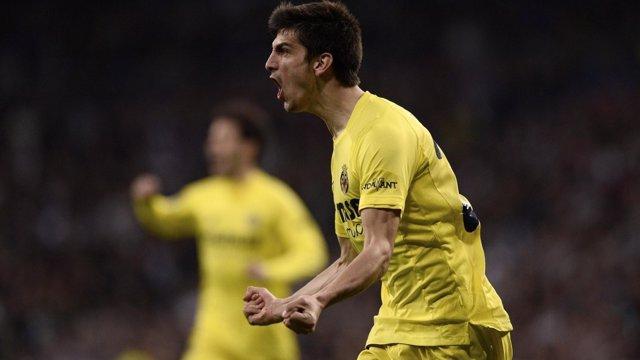 Gerard Moreno marca con el Villarreal
