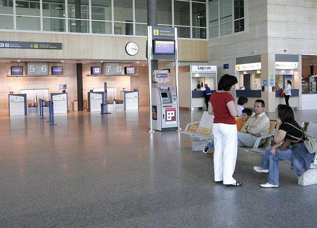 Imagen de archivo del Aeropuerto de Valladolid