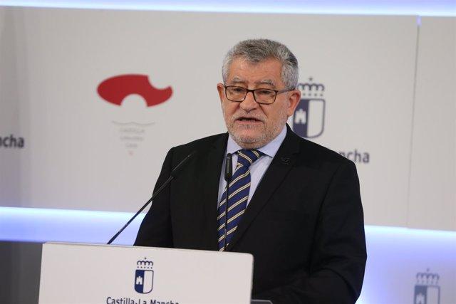 El consejero de Educación, Cultura y Deportes, Ángel Felpeto