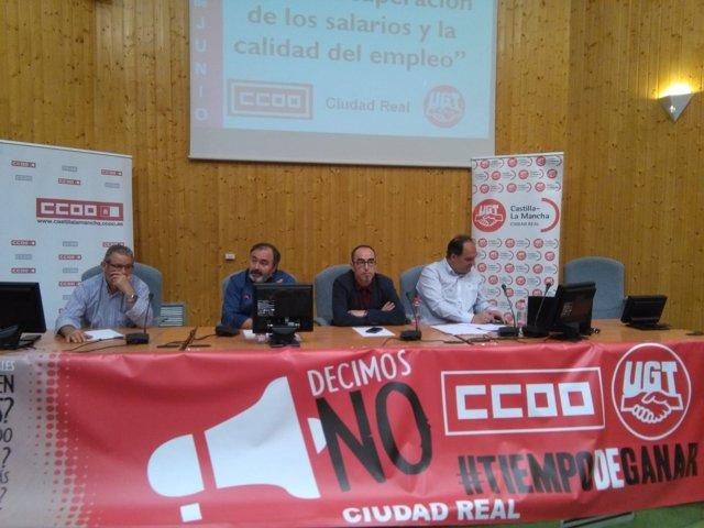 UGT y CCOO en Ciudad Real