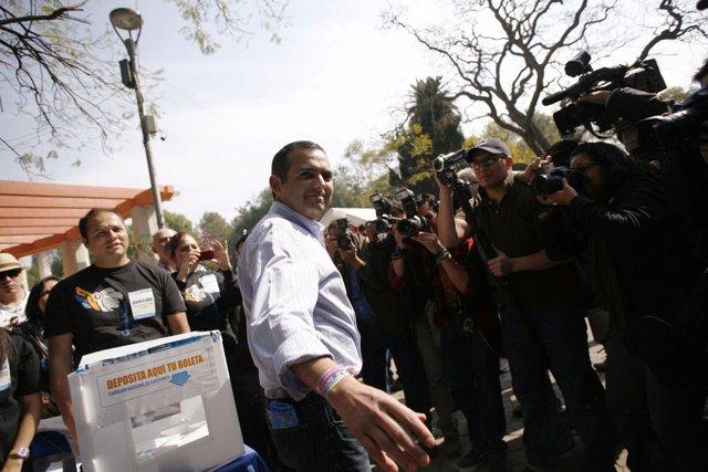 El senador mexicano del PAN Ernesto Cordero
