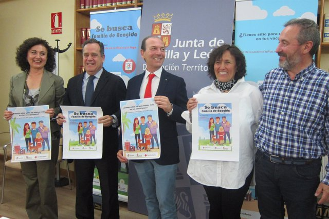 Presentación de la campaña para buscar familias de acogida