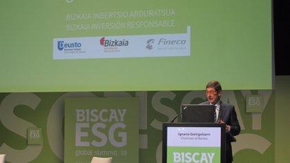 """Goirigolzarri cree que la privatización de Bankia es """"la mejor opción"""" para garantizar el futuro del proyecto"""