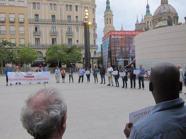 Acto contra el racismo y la xenofobia