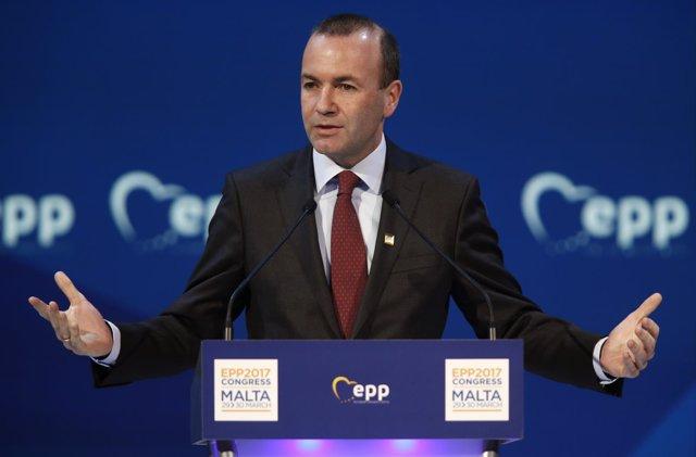 Foto de Manfred Weber, líder del Partido Popular Europeo (PPE) en la Eurocámara