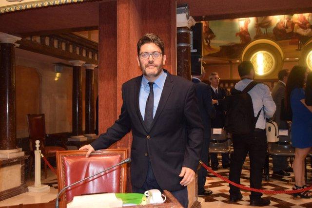 Miguel Sánchez de Ciudadanos en Asamblea Debate Estado Región
