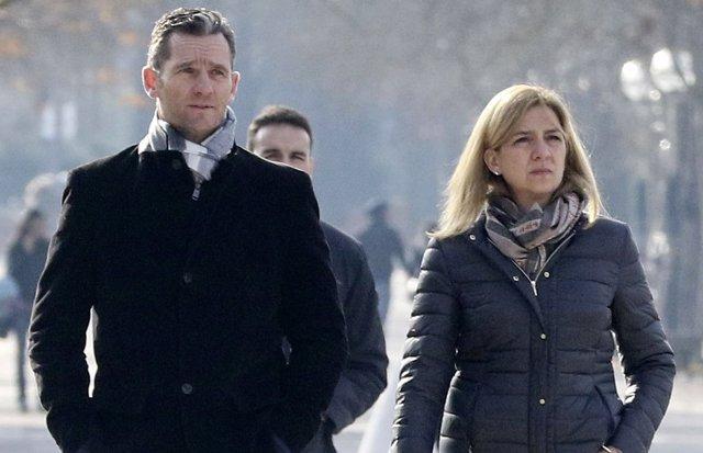 Iñaki urdangarin e Infanta Cristina