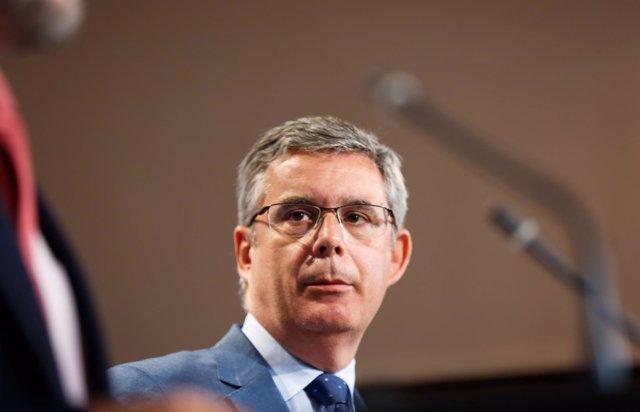 El portavoz del Gobierno andaluz, Juan Carlos Blanco