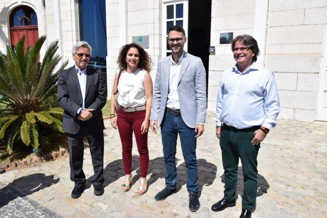 Dirigentes socialistas en Málaga