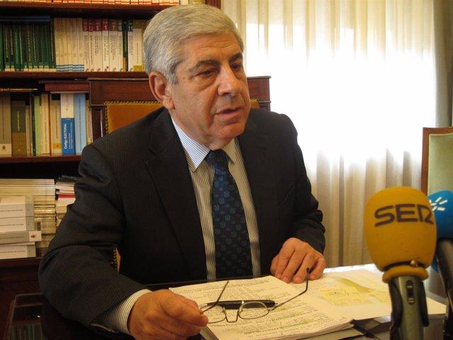 El presidente de la Audiencia Provincial de Sevila, Damián Álvarez