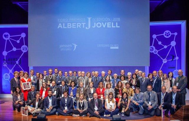 Premiados IV edición del Foro Premios Albert Jovell