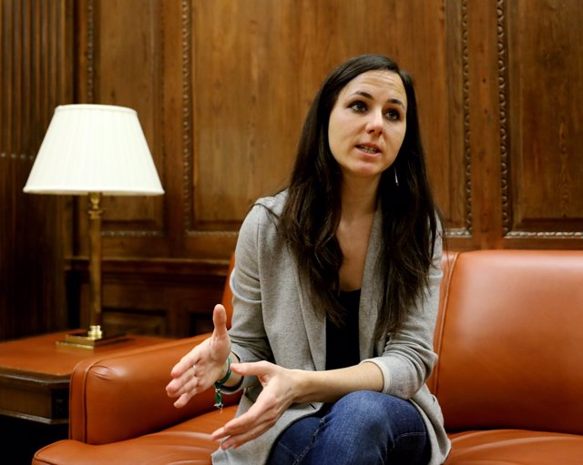 Entrevista de Europa Press a la portavoz de Unidos Podemos Ione Belarra