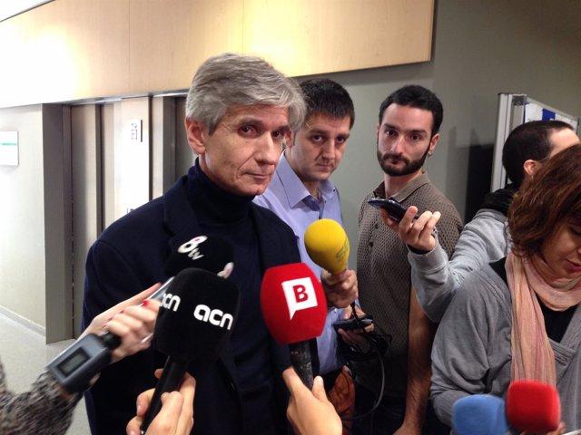 ARCHIVO / El director de la Aquas, Josep Maria Argimon