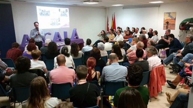 Candidatura de Luis de Santiago a la Secretaría de Podemos Alcalá