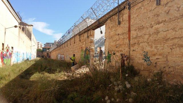 Obras en la antigua prisión de Palma