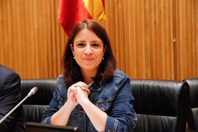 Adriana Lastra, portavoz del Grupo Socialista