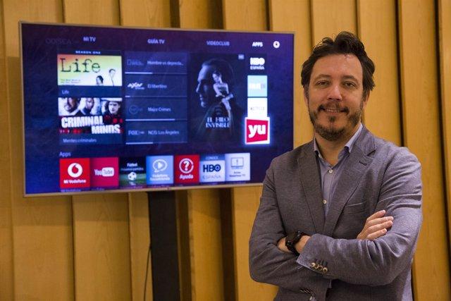 El director de Vodafone TV, Ignacio García-Legaz