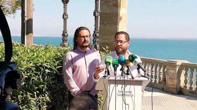 IU y Podemos presentan en Cádiz el proyecto Adelante Andalucía