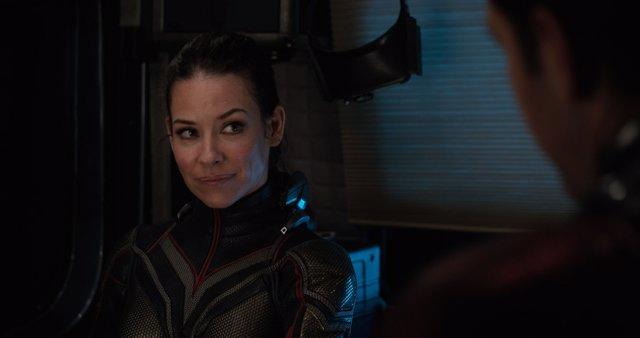 Evangeline Lilly en  Ant-Man y La Avispa
