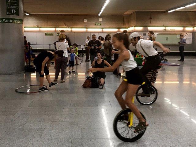 El metro acoge actividades de Circada