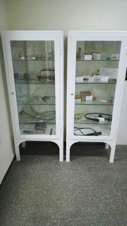 Exposición de medicamentos en el Hospital de la Fuenfría