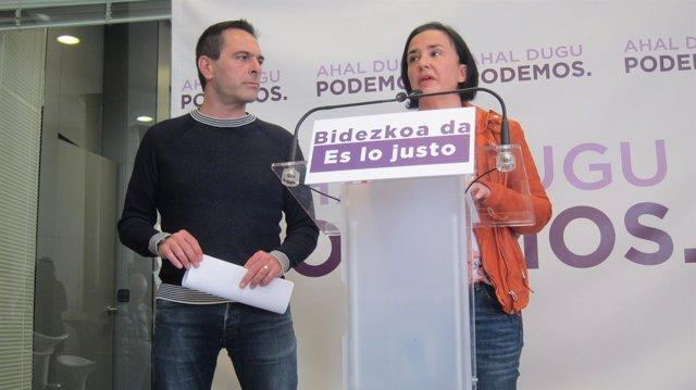 Foto de archivo de Cristina Macazaga y Andeka Larrea