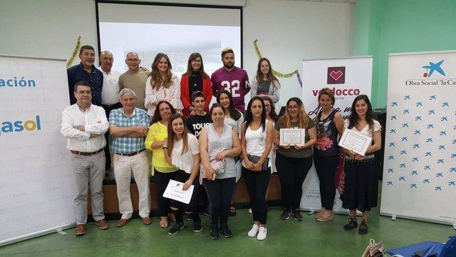 Clausura de un curso de la Fundación Valdocco.