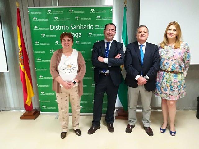 Nuevos directores gerentes area sanitaria málaga vilaseca y gutierrez sequera