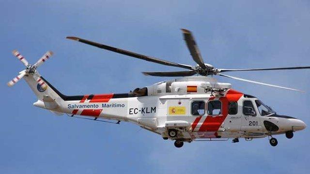 Imágen de archivo del Helicóptero de Salvamento