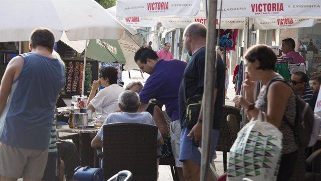 Camareros, turístico, hostelería, Málaga