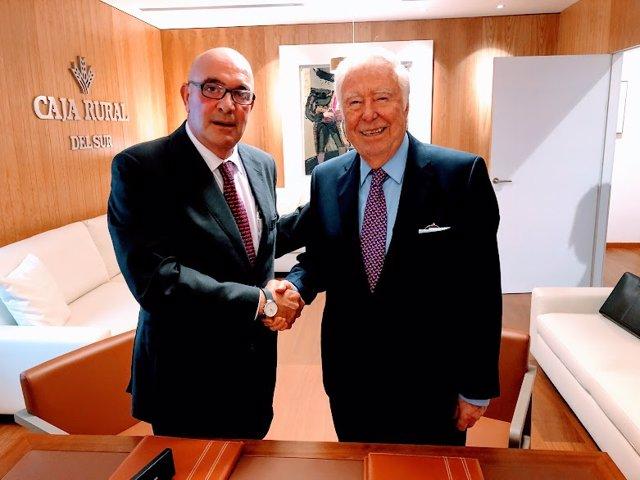 Juan Rafael Leal Rubio y José Luis García Palacios.