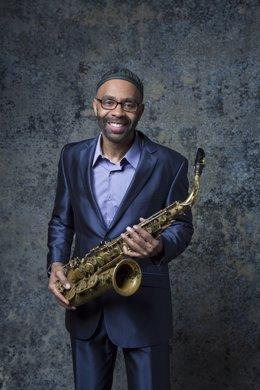 El saxofonista Kenny Garrett