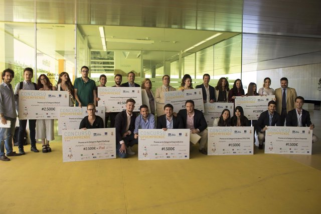 La UPO concede diez premios en el X Concurso UPOemprende