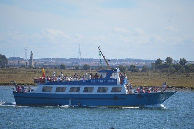 Canoa de Punta Umbría.