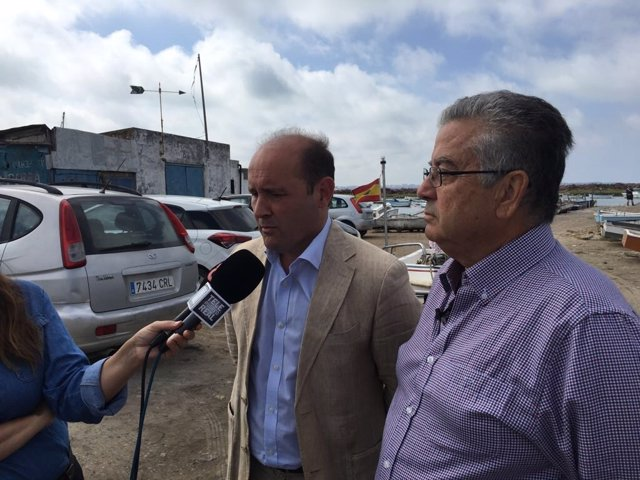 El candidato popular a la Alcaldía de Cádiz, Juancho Ortiz