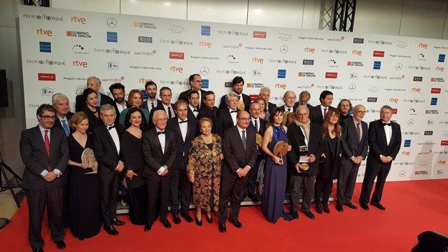 Gala de los Premios Forqué de 2018 en Zaragoza