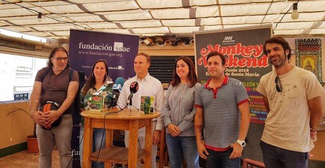 Presentación del Monkey Weekend de El Puerto